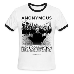 Anonymous 4 - Men's Ringer T-Shirt