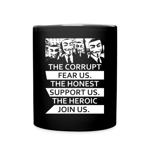 Anonymous 5 - Full Color Mug