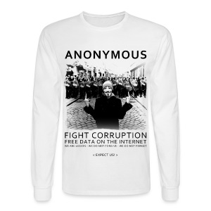 Anonymous 4 - Men's Long Sleeve T-Shirt