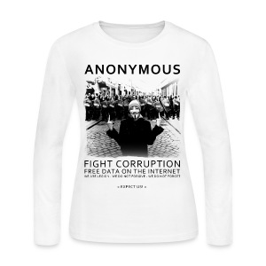 Anonymous 4 - Women's Long Sleeve Jersey T-Shirt