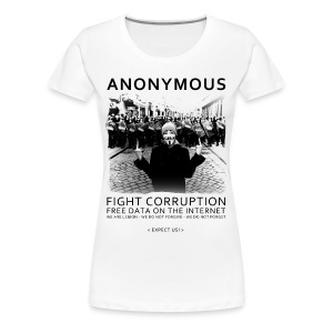 Anonymous 4 - Women's Premium T-Shirt
