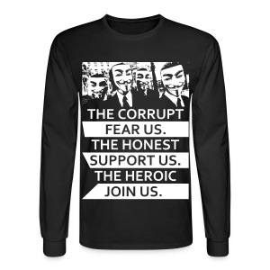 Anonymous 5 - Men's Long Sleeve T-Shirt