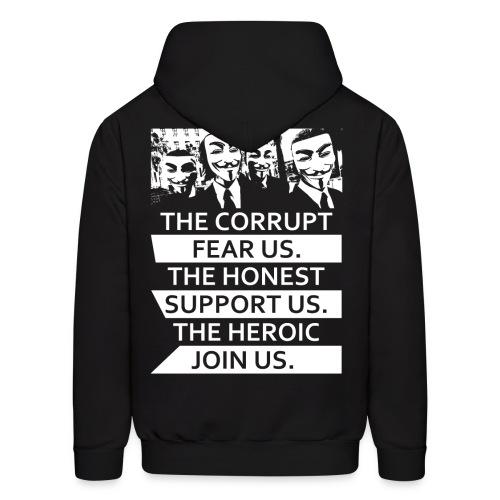 Anonymous 5 - Men's Hoodie