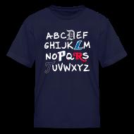 Kids' Shirts ~ Kids' T-Shirt ~ Detroit Alphabet
