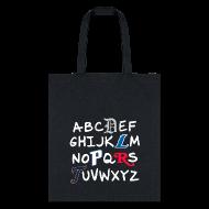 Bags & backpacks ~ Tote Bag ~ Detroit Alphabet