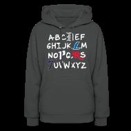 Hoodies ~ Women's Hoodie ~ Detroit Alphabet