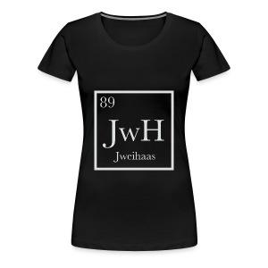 Women's Jweihaas Chemistry T-shirt - Women's Premium T-Shirt