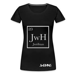Women's Jweihaas Chemistry T-shirt with Logo - Women's Premium T-Shirt
