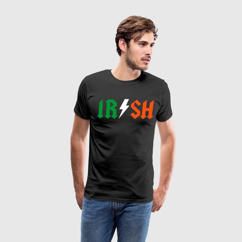 IRISH | AC/DC Style - Men's Premium T-Shirt