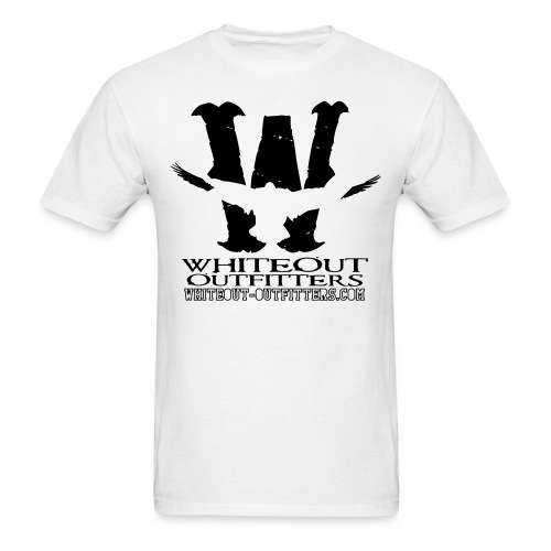 Whiteout Outfitters Warning Snows Tshirt - Men's T-Shirt