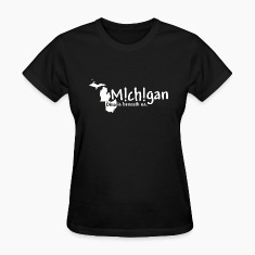 Funny Michigan Ohio Humor Women's T-Shirts