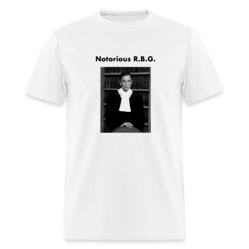 Notorious R.B.G - Men's T-Shirt