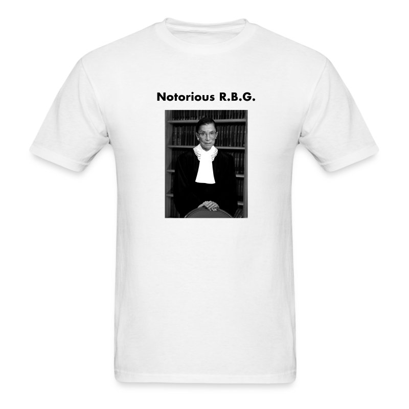 Notorious R.B.G - Men's T-Shirt