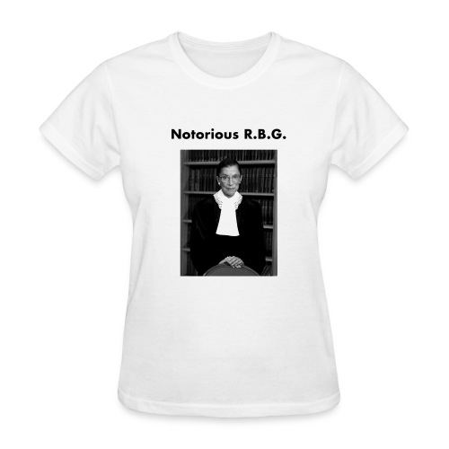 Notorious R.B.G - Women's T-Shirt
