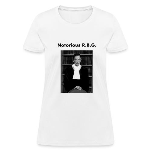 Notorious R.B.G - Women's T-Shirt
