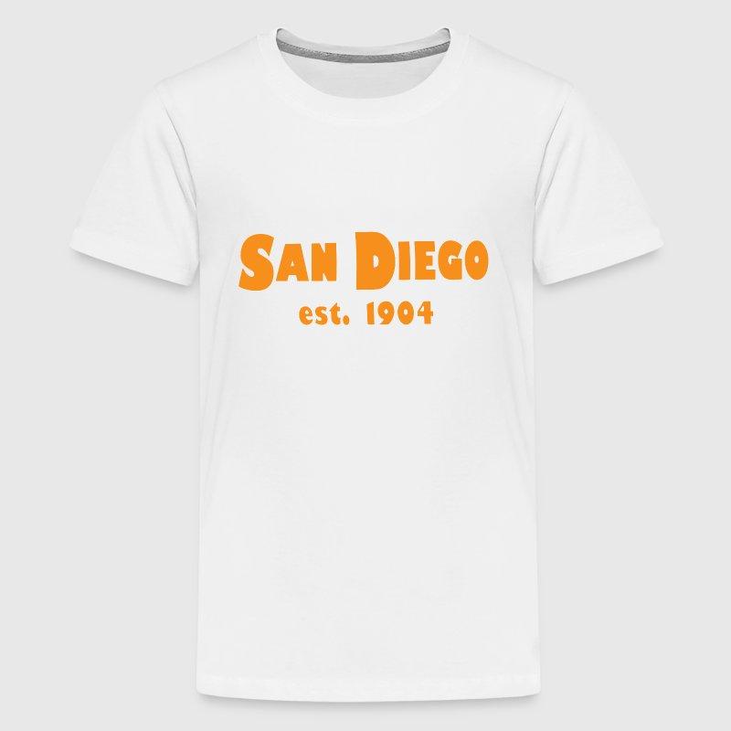 San diego california est 1904 t shirt spreadshirt for Shirt printing san diego