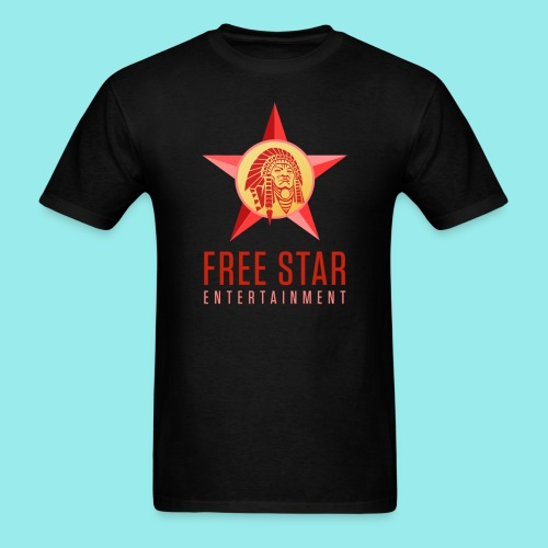 Free Star Entertainment Black  - Men's T-Shirt