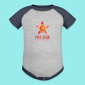Free Star Entertainment Baby One piece  - Baby Contrast One Piece
