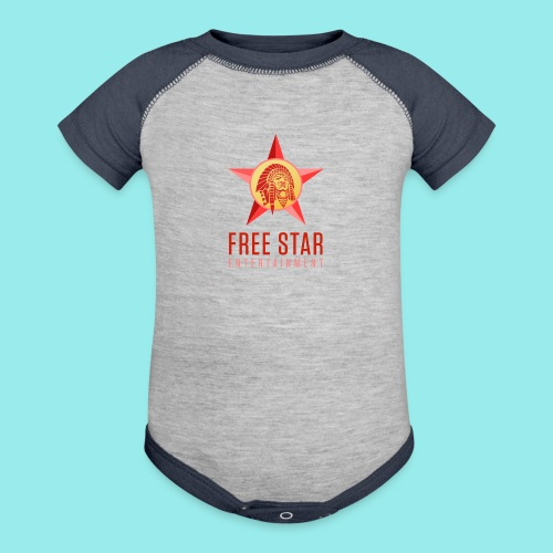 Free Star Entertainment Baby One piece  - Contrast Baby Bodysuit