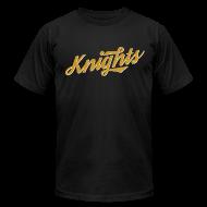 T-Shirts ~ Men's T-Shirt by American Apparel ~ Gold Knights Retro Men's Shirt