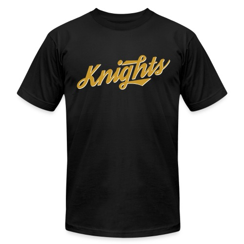 Gold Knights Retro Men's Shirt - Men's Fine Jersey T-Shirt