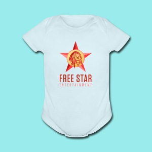 Free Star Entertainment Baby one piece  - Short Sleeve Baby Bodysuit