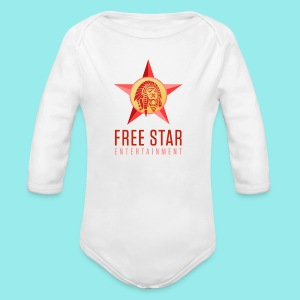 Free Star Entertainment One Piece (Long Sleeve)  - Long Sleeve Baby Bodysuit