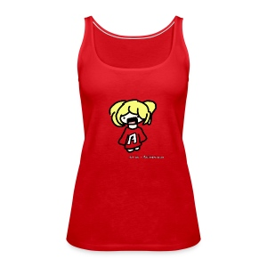 Cute iOSEmus Tank Top (Female) - Women's Premium Tank Top