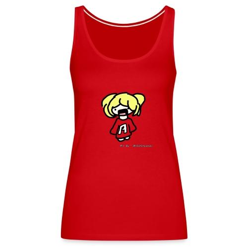 Cute iOSEmus Tank Top (Female) - Women's Premium Tank Top
