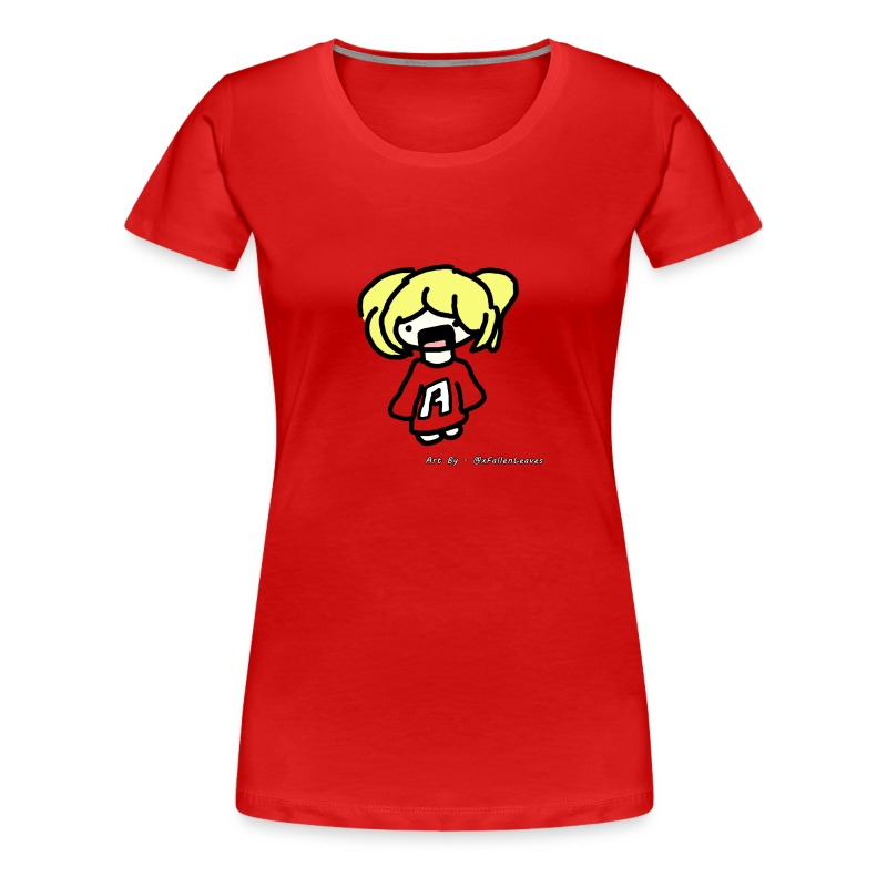 Cute iOSEmus Top (Female) - Women's Premium T-Shirt
