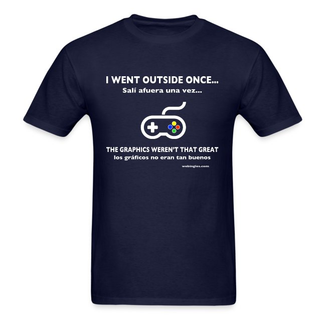 Video Jugador va afuera, Gamer goes outside
