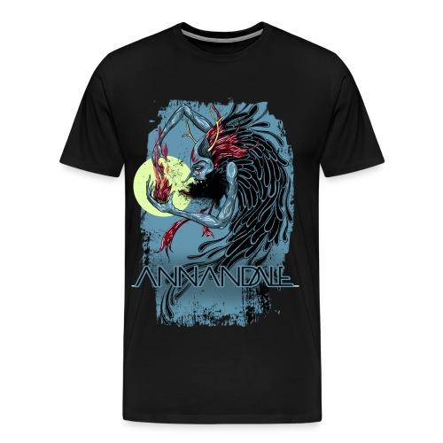 Manfish Blue - Men's Premium T-Shirt