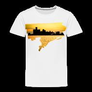 Baby & Toddler Shirts ~ Toddler Premium T-Shirt ~ Detroit Skyline River