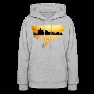 Hoodies ~ Women's Hoodie ~ Detroit Skyline River