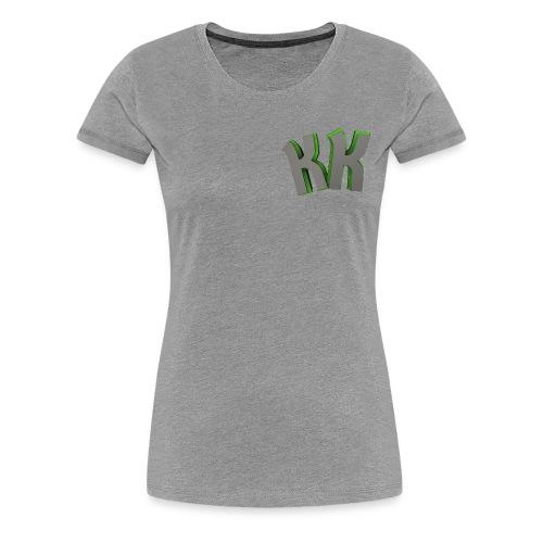 KaVerKa Womens Plain T-Shirt - Women's Premium T-Shirt
