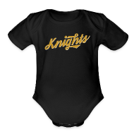 Baby Bodysuits ~ Baby Short Sleeve One Piece ~ UCF Knights Retro Baby