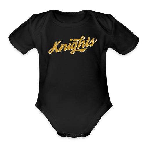 UCF Knights Retro Baby   - Organic Short Sleeve Baby Bodysuit