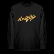Kids' Shirts ~ Kids' Long Sleeve T-Shirt ~ UCF Knights Retro Long Sleeve Kid's Shirt