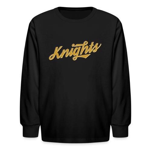 UCF Knights Retro Long Sleeve Kid's Shirt - Kids' Long Sleeve T-Shirt