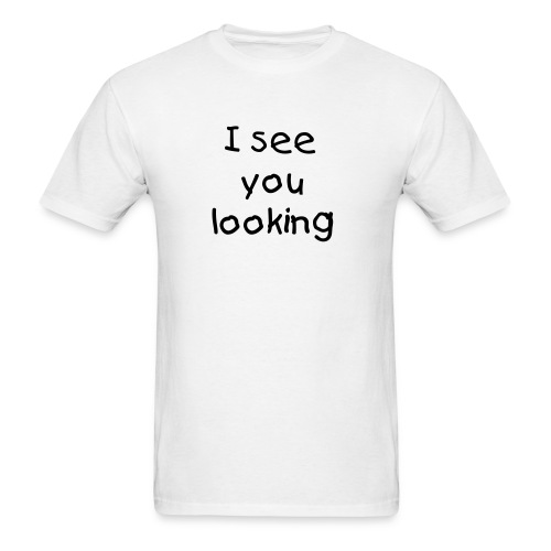 looking - Men's T-Shirt