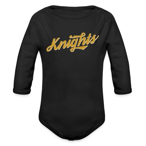 Retro UCF Knights Long Sleeve   - Organic Long Sleeve Baby Bodysuit