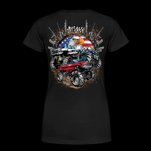 Mudding USA BACK - Women's Premium T-Shirt