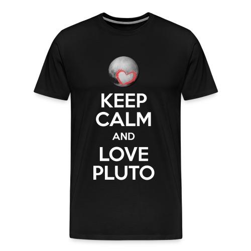Keep Calm N love PLUTO - Men's Premium T-Shirt