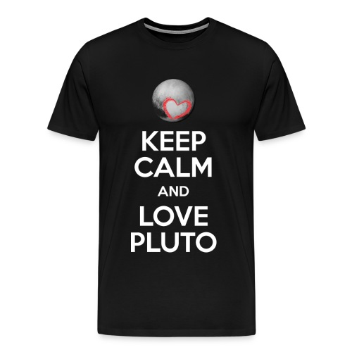 Keep Calm N love PLUTO - Men's Premium T-Shirt