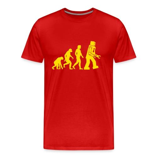 Sheldon Robot Evolution - Men's Premium T-Shirt