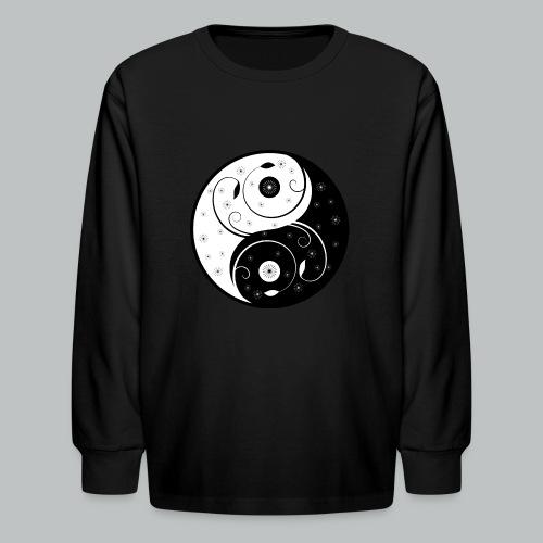 Yin-Yang - Kid's - Kids' Long Sleeve T-Shirt