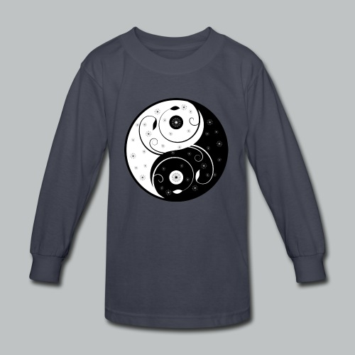 Yin-Yang - Kid's - Kids' Long Sleeve T-Shirt