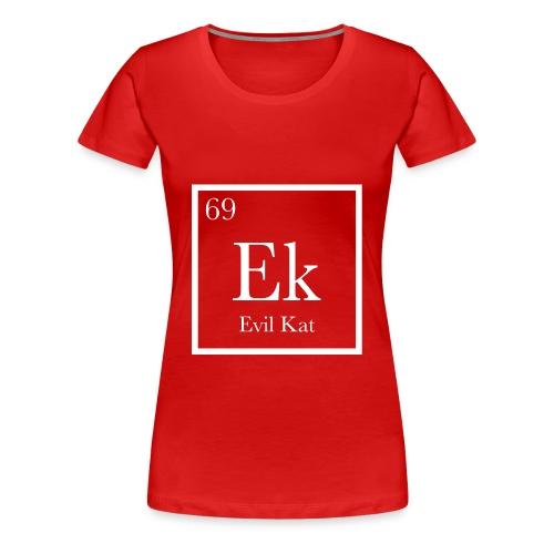 KAT CHEMISTRY - Women's Premium T-Shirt