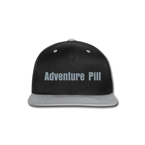 Adventure Pill Snapback - Snap-back Baseball Cap