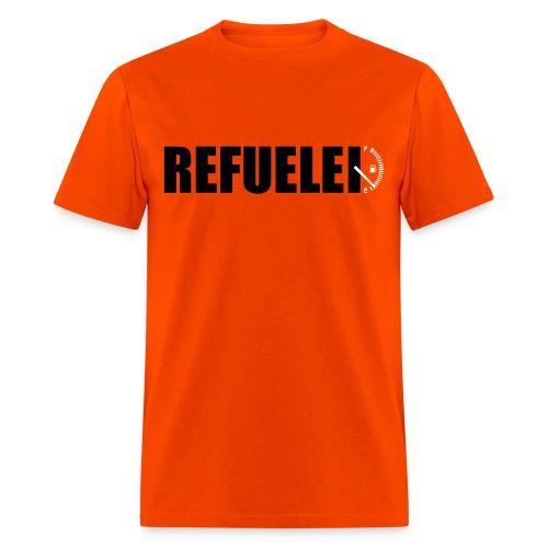 Refueled orange  - Men's T-Shirt